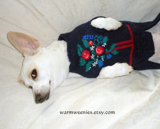Dachshund Christmas Sweater Jumper